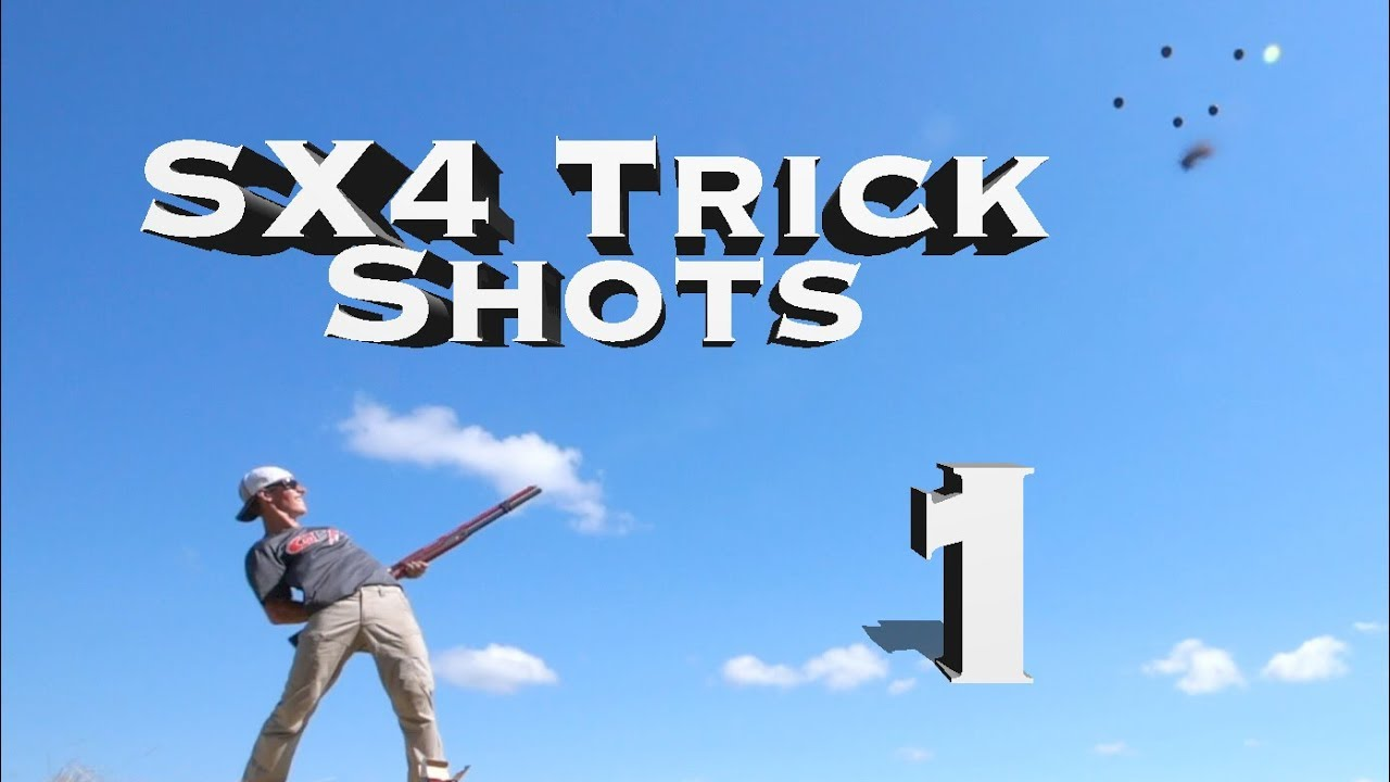Shotgun Trick Shots: Winchester SX4 Edition 1 | Gould Brothers