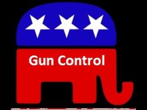 Republicans Pushing Gun-Control Federally