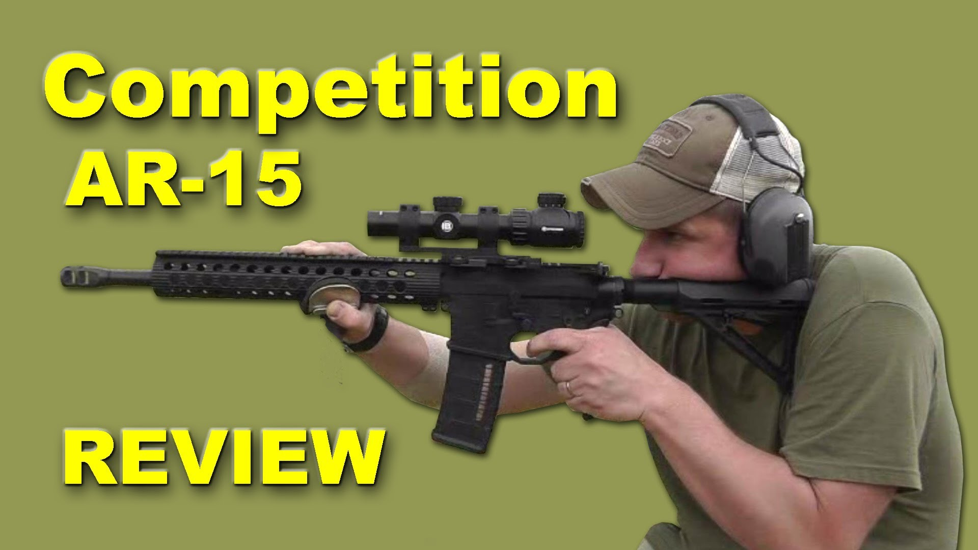 AR-15 Competition Rifle Review - Custom 3-Gun Rifle