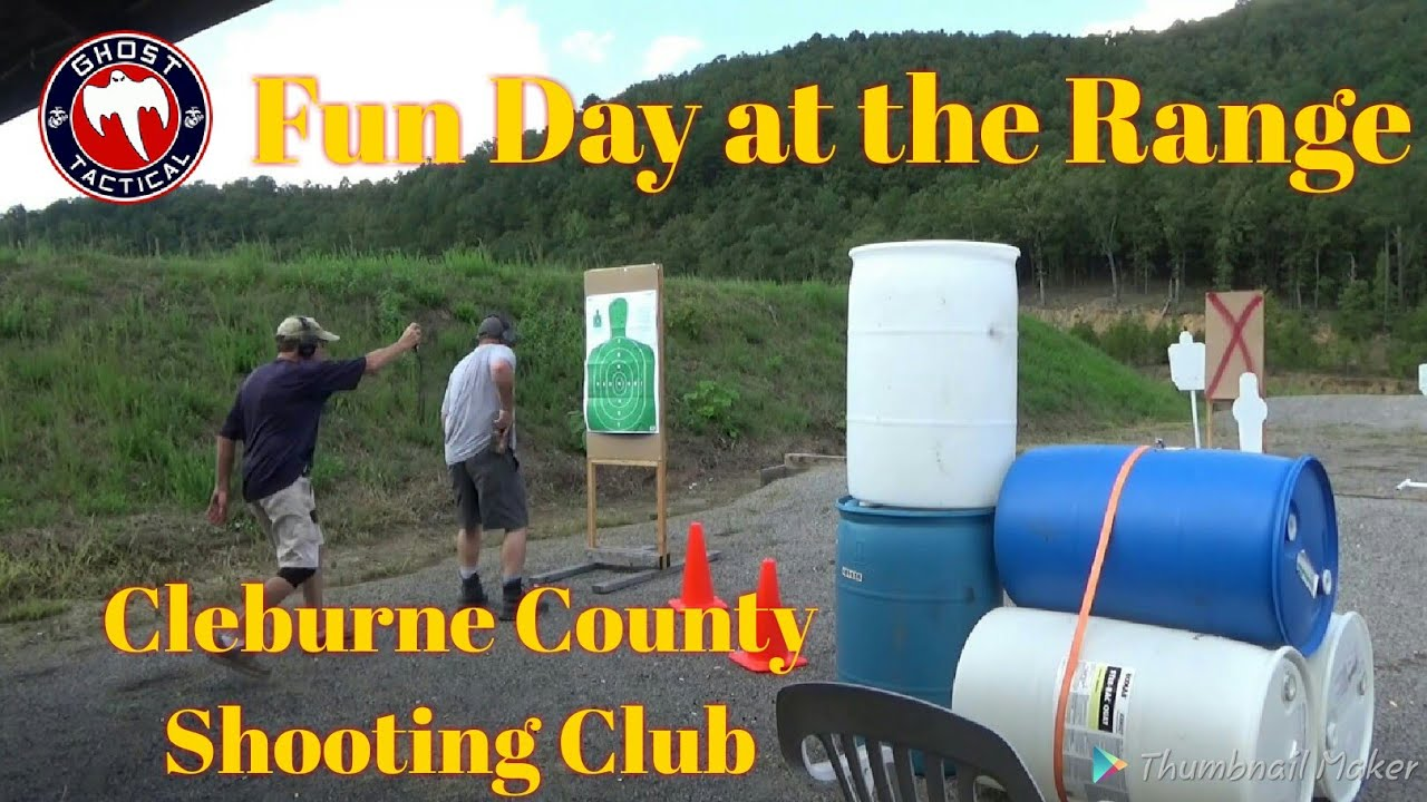 Fun Day at the Range: Cleburne County Shooting Club Fun shoot