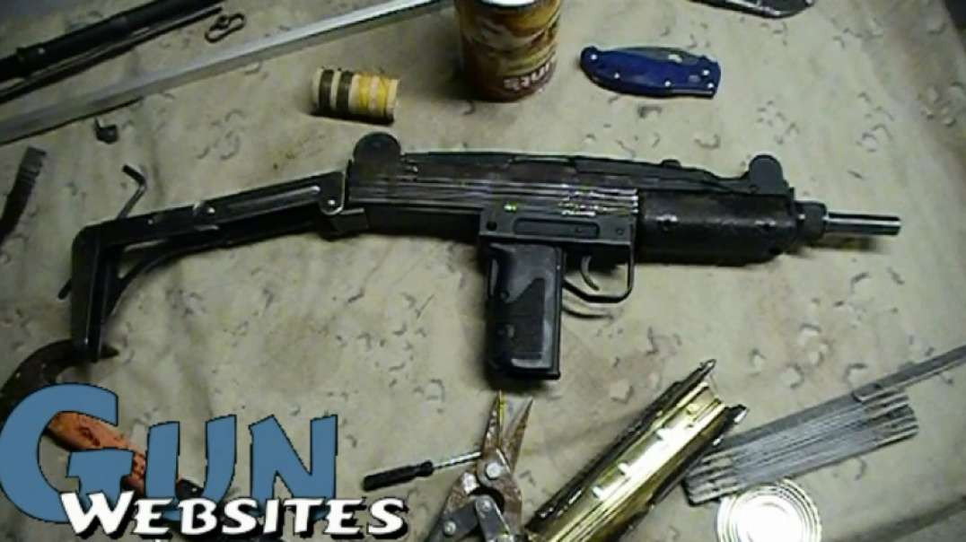 Soup Can UZI 9mm Faux Full Auto Fun