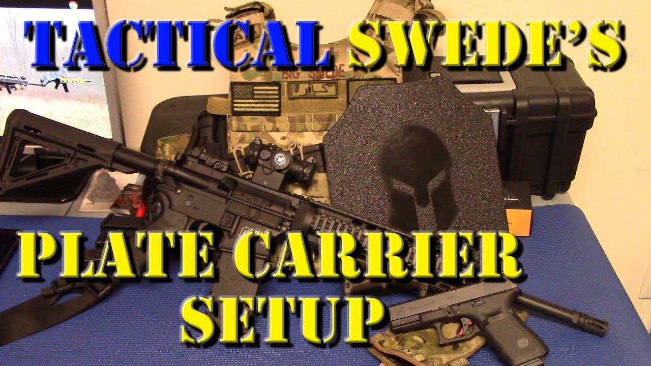 Plate Carrier Setup: My Simple and Minimalist System