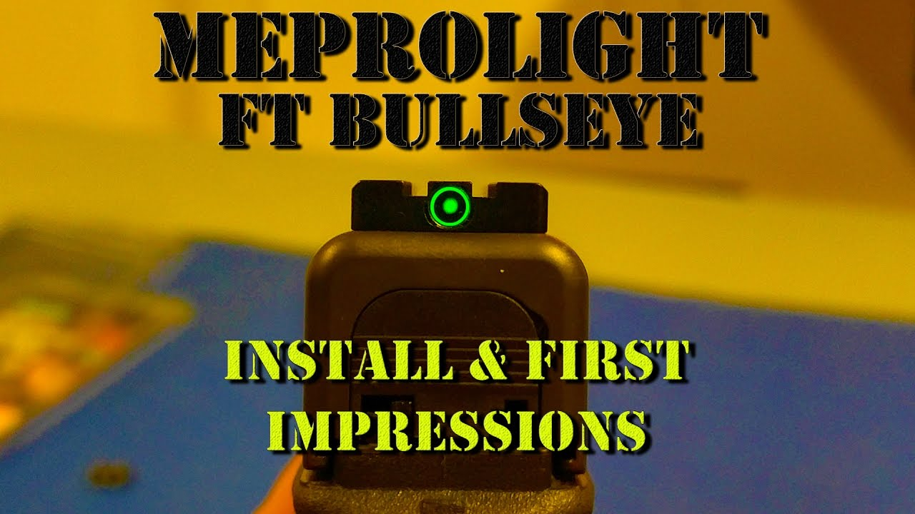 Meprolight FT Bullseye Install & First Impressions
