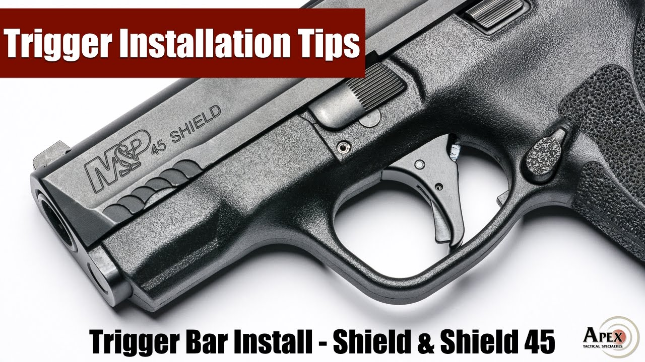 Apex Trigger Bar Installation for M&P Shield and M&P Shield 45 Trigger