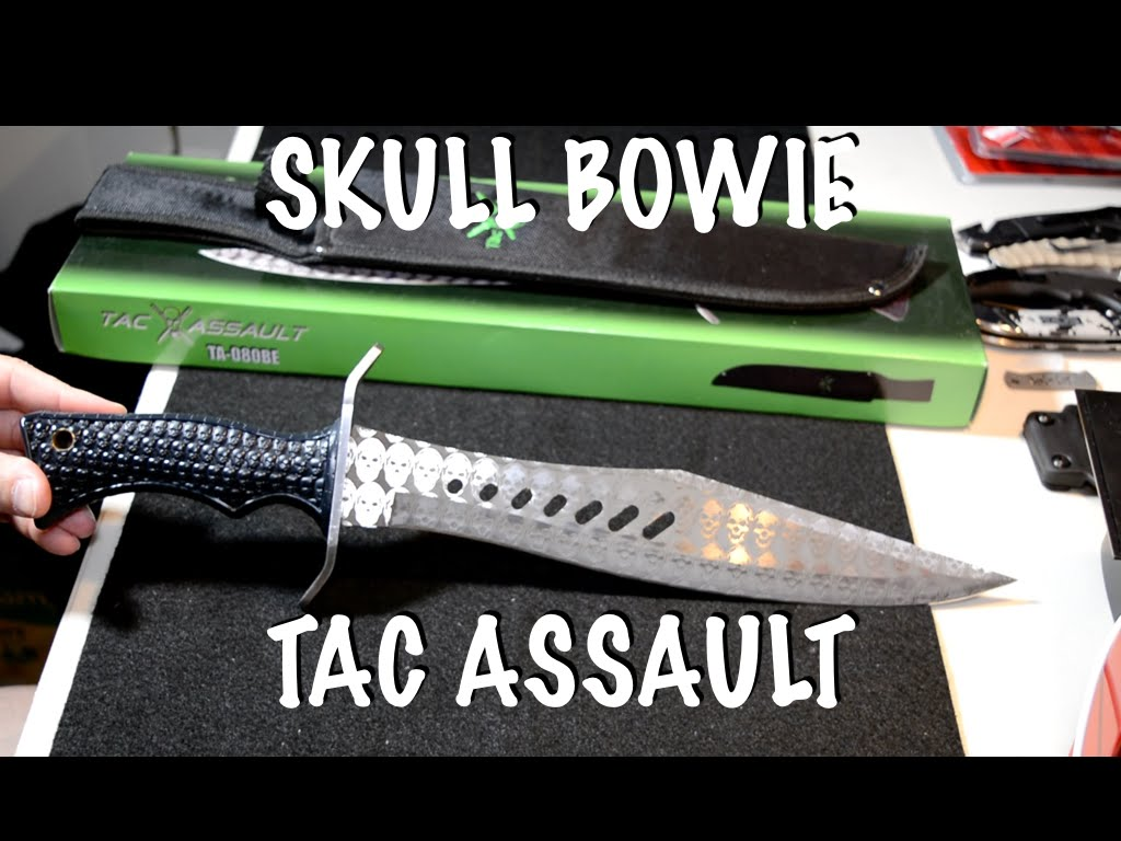 Skull Bowie by Tac Assault