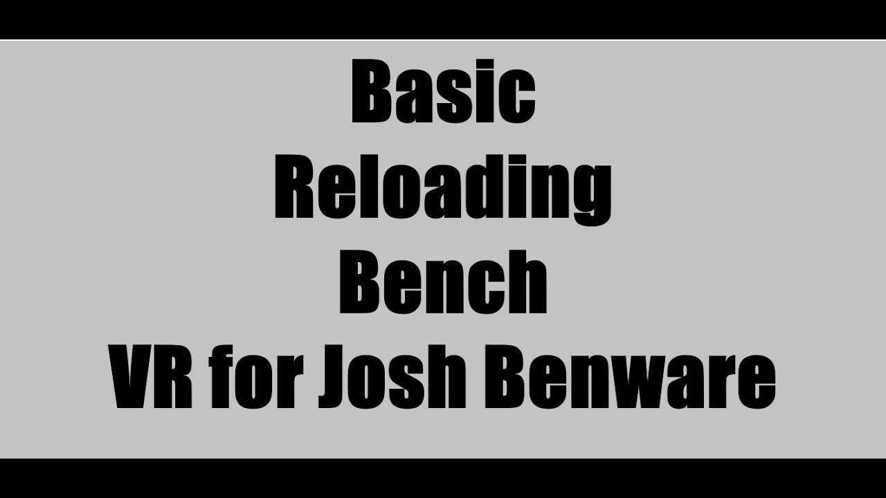 Basic Reloading Bench