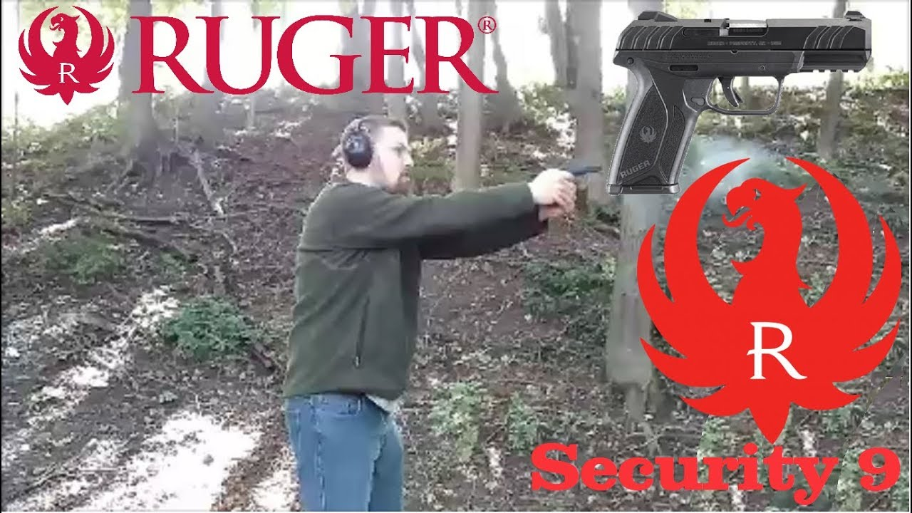 Ruger Security 9 - First Shots