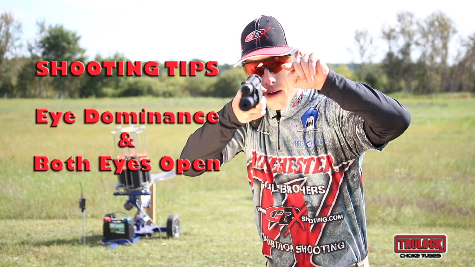 Tips for Better Wing & Clay Shooting - Eye Dominance & Both Eyes Open