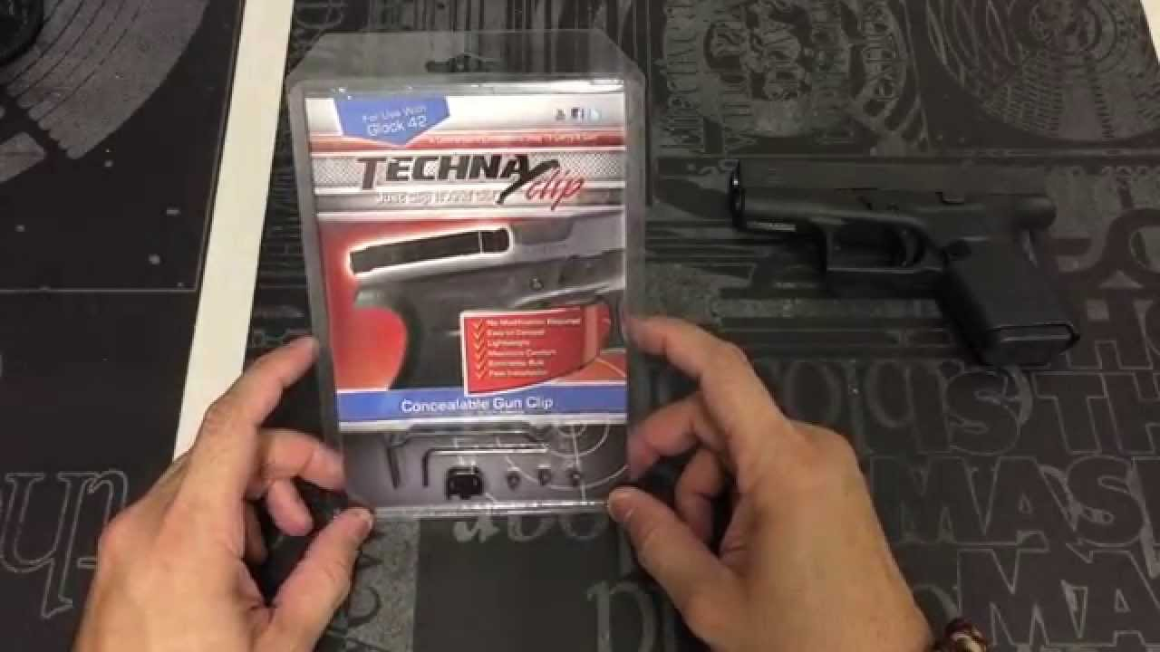 Glock 42 Techna Clip Review and Installation