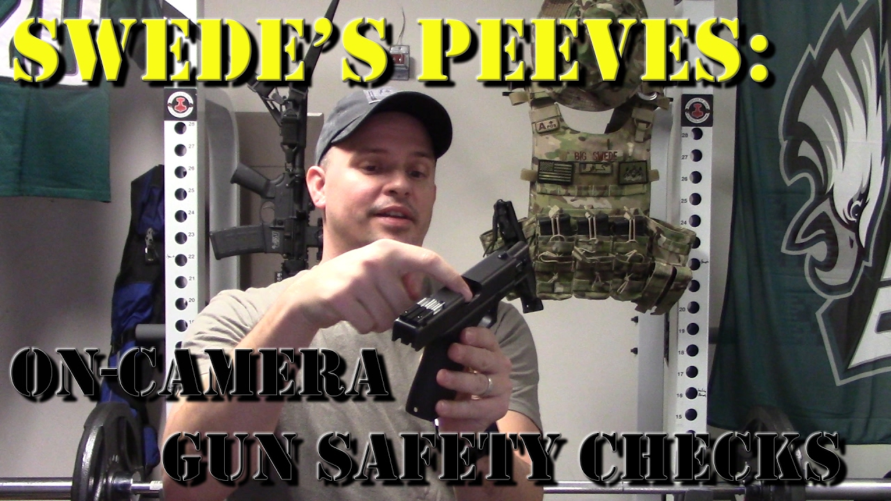 Swede's Peeves - EP1: On Camera Gun Safety Checks (Re-issue)