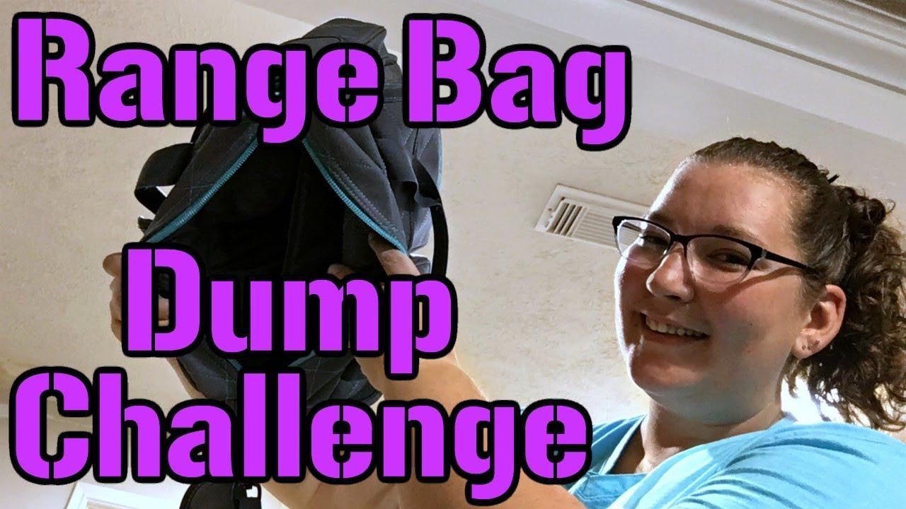 Lizz Does the Range Bag Dump Challenge!