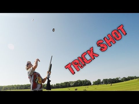 The Hangtime Thow N Load Shot Over the Head - Trick Shot | Gould Brothers