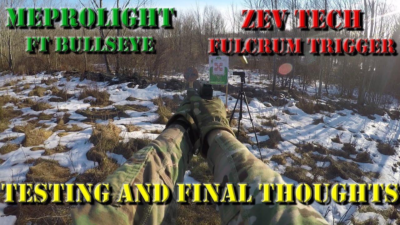 Final Thoughts: Testing the Meprolight FT Bullseye & Zev Tech Fulcrum Trigger