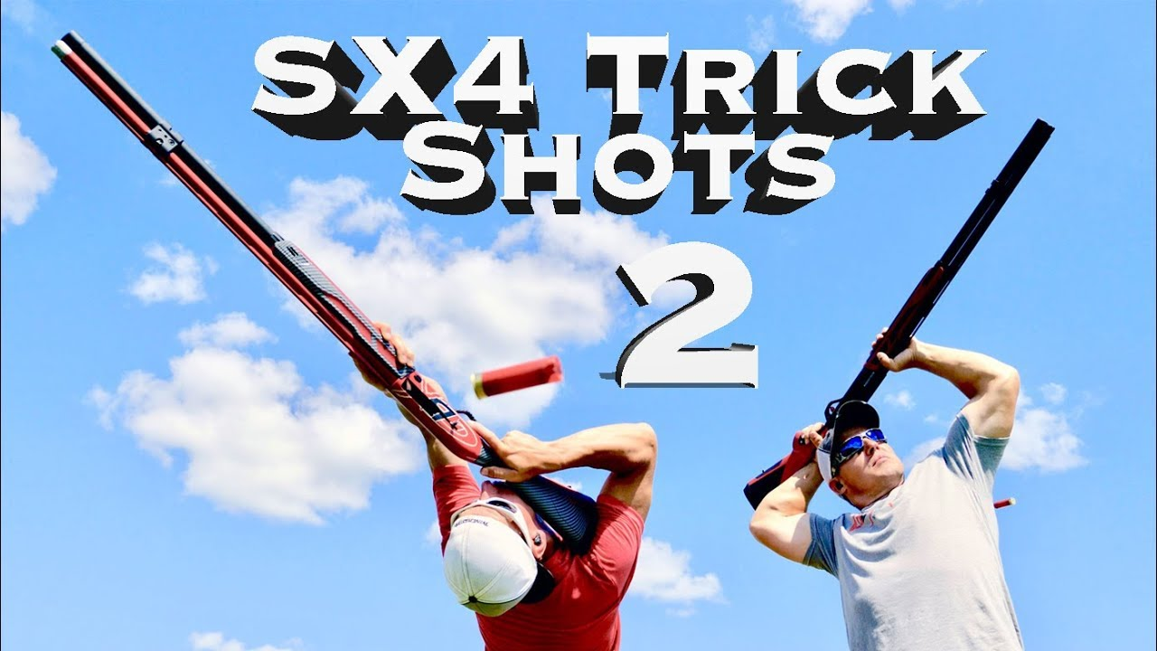 Big Time Shotgun Trick Shots: Winchester SX4 Edition 2 | Gould Brothers