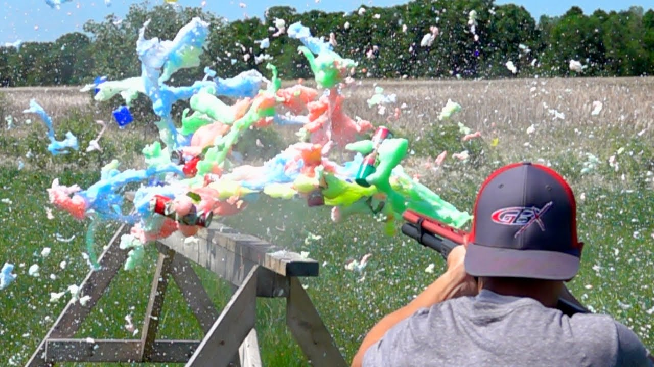 How Many Cans of Silly String will a Shotgun Shoot Through? | Gould Brothers