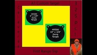 A1 Custom Target Range Trip 1