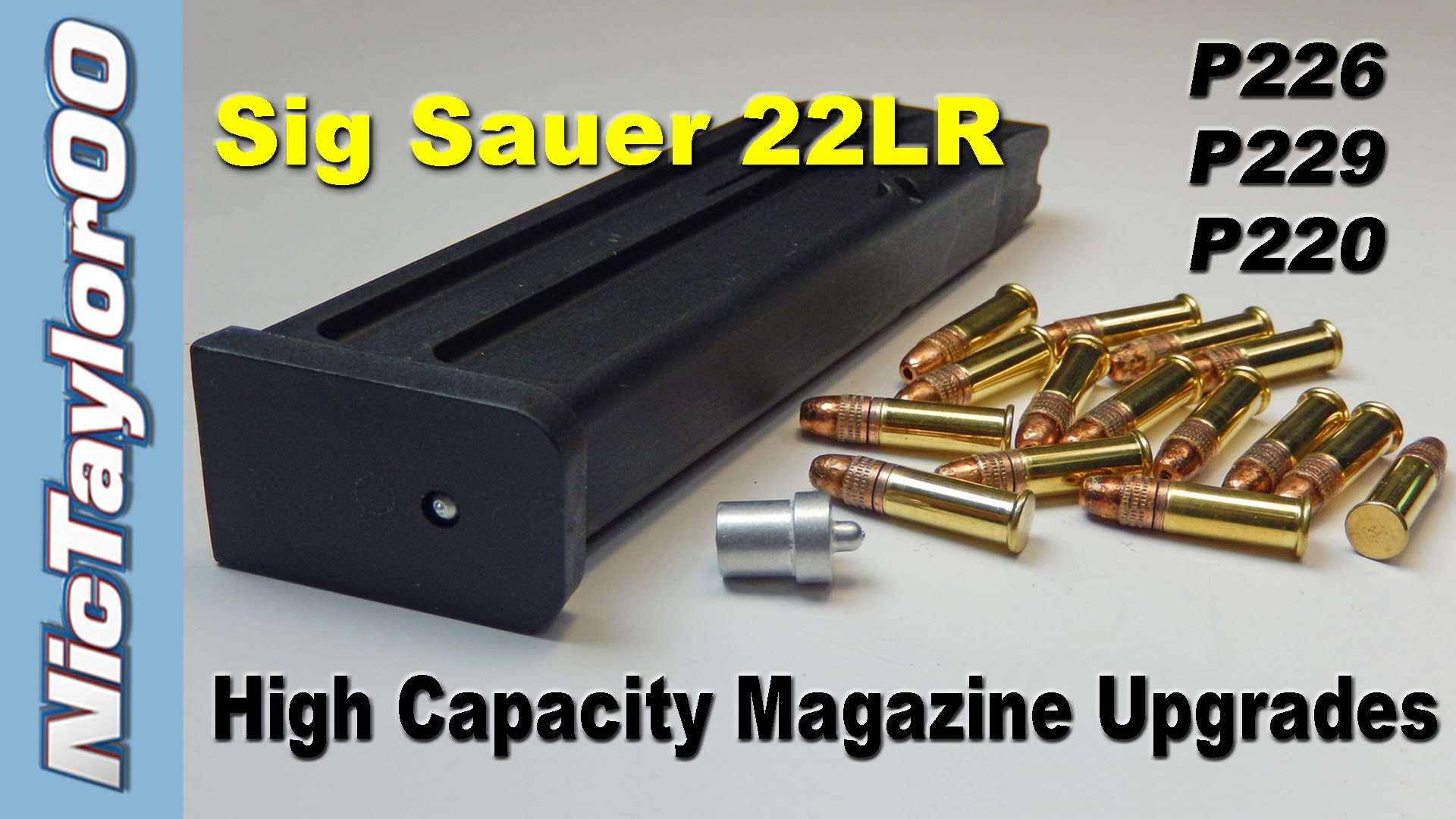 Sig Sauer Hi Capacity Magazine Upgrade Install Instructions