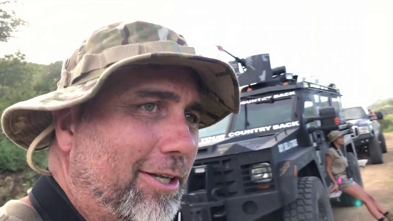 Border Deployment Dry Run BuildTheWallTV near the border