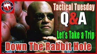 Live Q&A:  Embrace the Rabbit Hole:  Tactical Tuesday 61