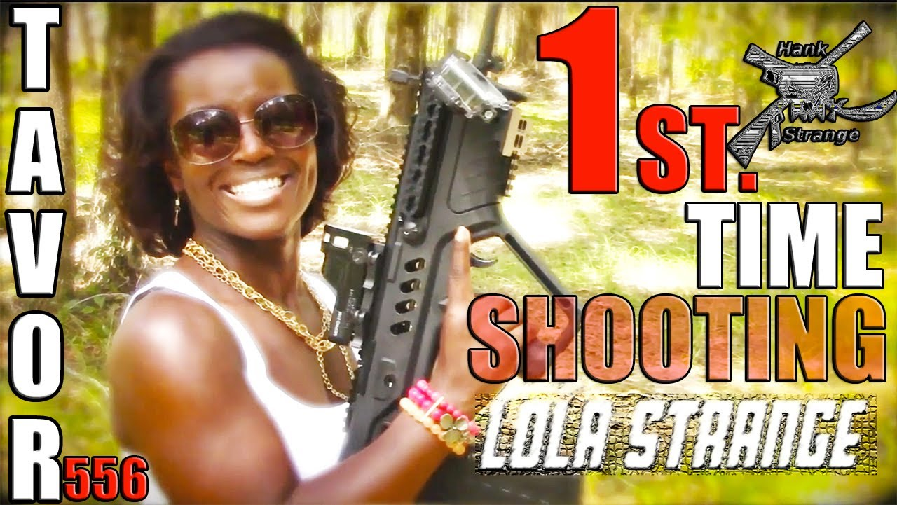 Lola Shooting IWI Tavor Bullpup Rifle First Time & RAT WORX MRX Knife