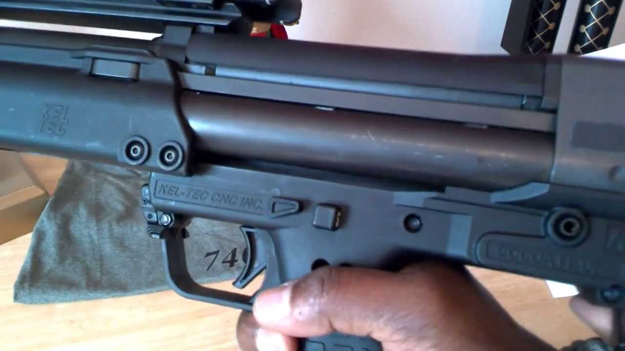 KSG Shotgun Upgrade Extended Tube Selector Switch Accessory Quick Install