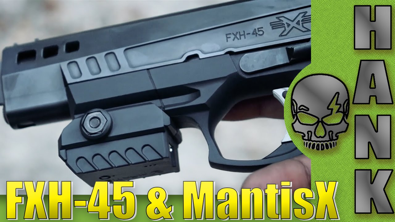 FXH-45 & MantisX Firearms Training Device