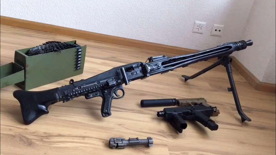 Zastava M53 Full-Auto Beltfed Machine Gun