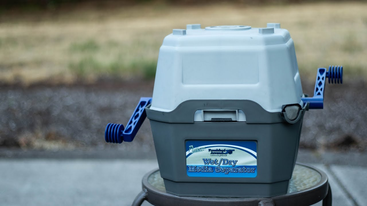 Streamline Your Case Prep! Wet/Dry Media Separator Review
