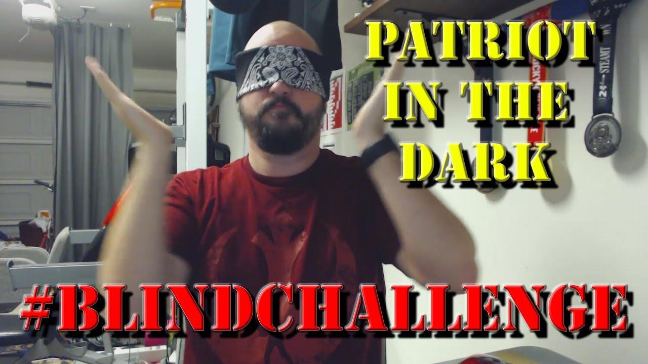 #PatriotInTheDark:  #BlindChallenge (Blind AR15 Field Strip)
