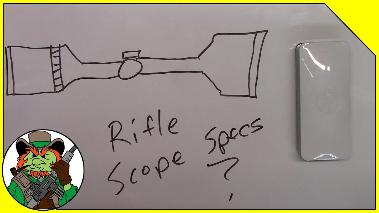 Rifle Scope Specs Explained - CloverTac Classroom #002