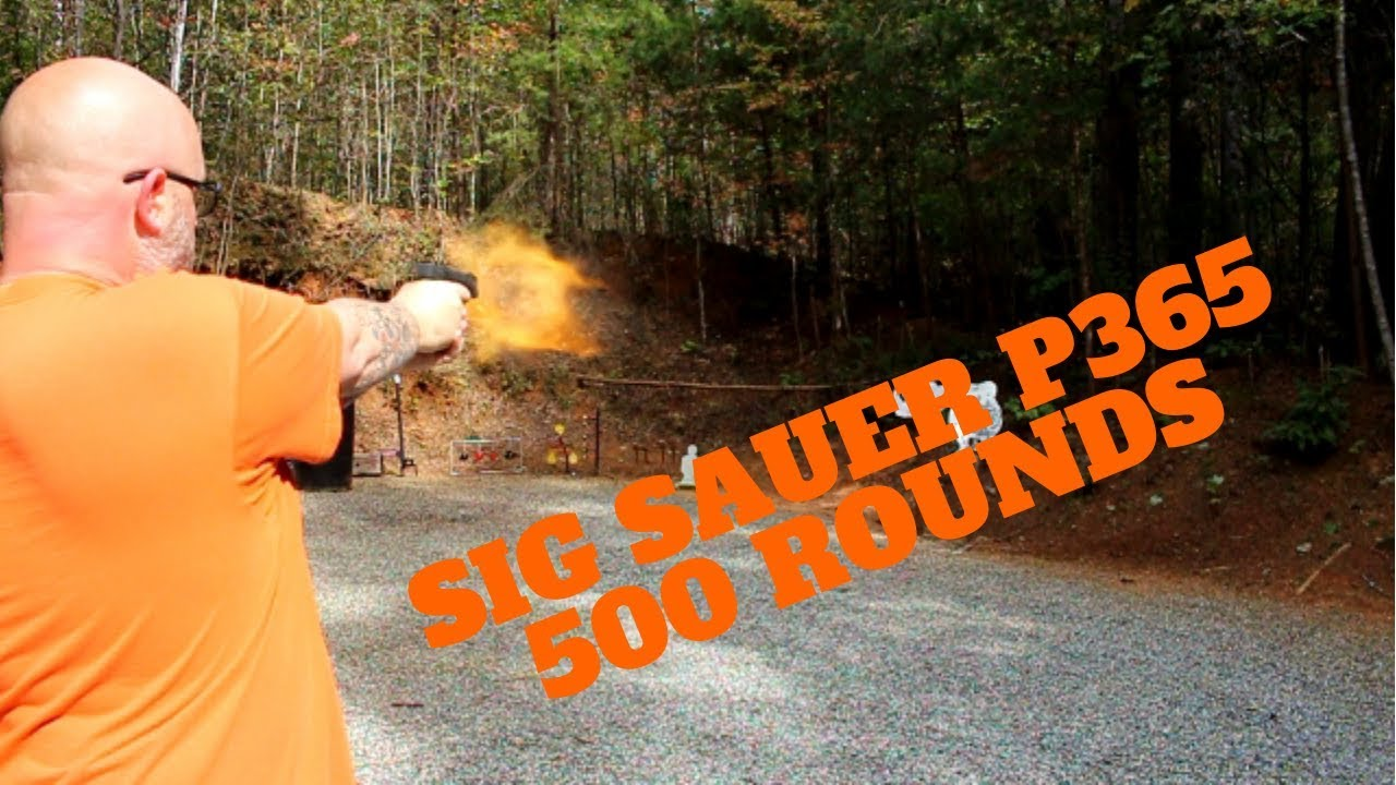 Sig Sauer P365 Range Day Plus Bloopers