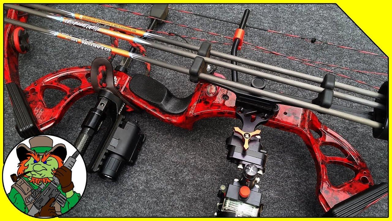 Custom PSE Stinger Compound Bow - Show & Tell