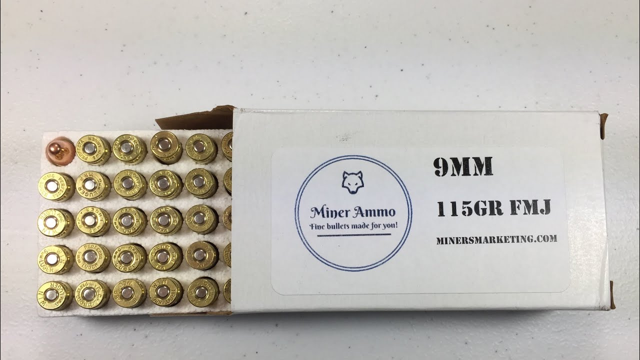 Quick look at miner's ammo from miner's marketing