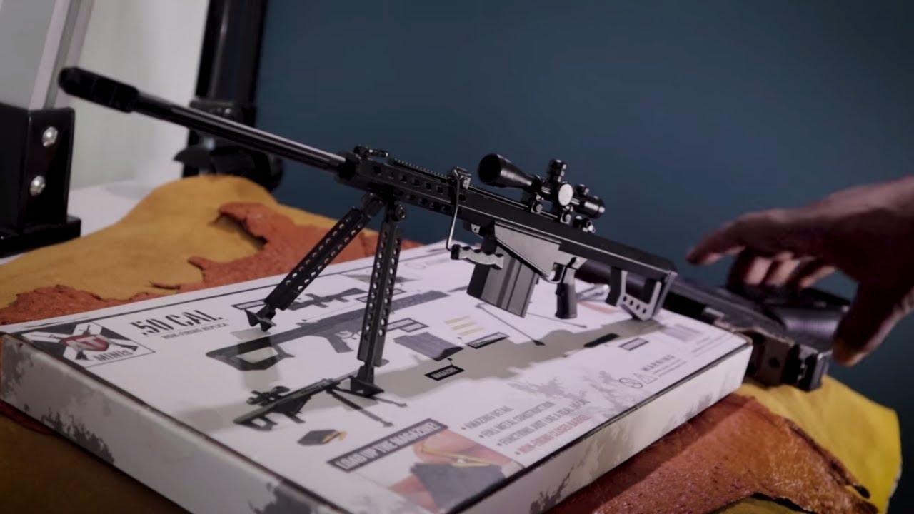 ATI Mini 50 Cal BMG 1/3 Scale Replica Unboxing