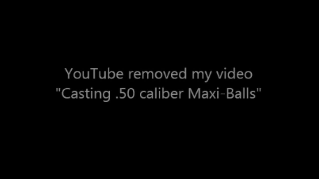 YouTube removed my video
