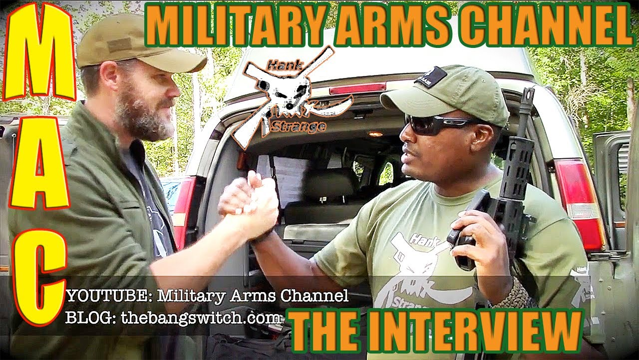 Interview Mac From Military Arms Channel At Bullpup Shoot 2013