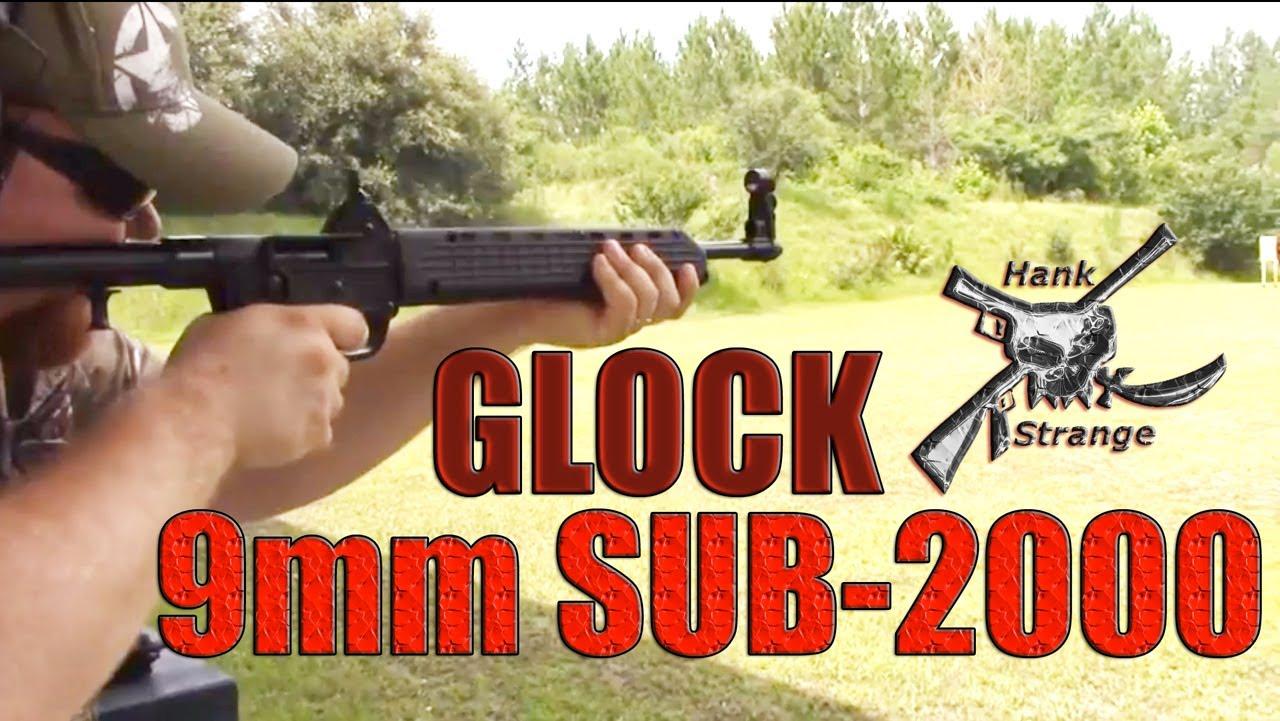 Shooting Kel-Tec 9mm Sub-2000's Carbine on the Range