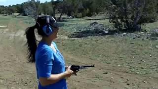 Mari Shoots a .44 Magnum Part 3