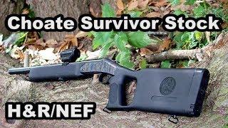 Choate Survivor Stock for H&R NEF