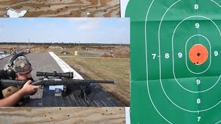 Christensen Arms Ridgeline 6.5 Creedmore Range Test to 300 yards!