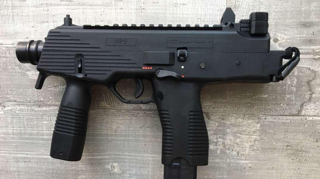 B&T MP9 Full-Auto Sub Machine Gun