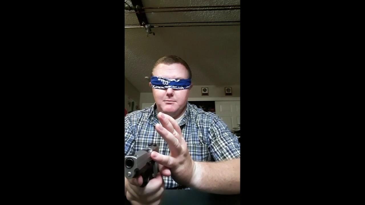 Sig P238 Field Strip #BlindChallenge #Patriot In The Dark