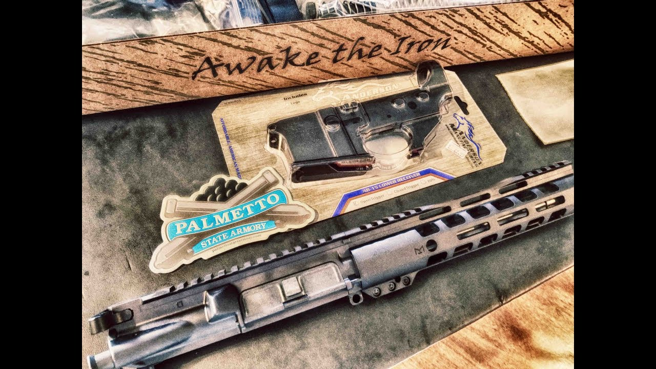 Palmetto State Armory 10.5 upper unboxing