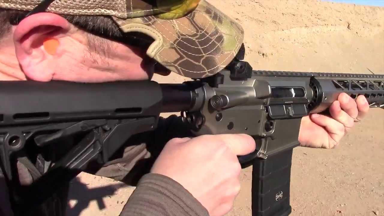 Shooting Tac-Con 3MR Trigger Sysytem 2014 Shot Show Media Day At The Range We Like Shooting Crew