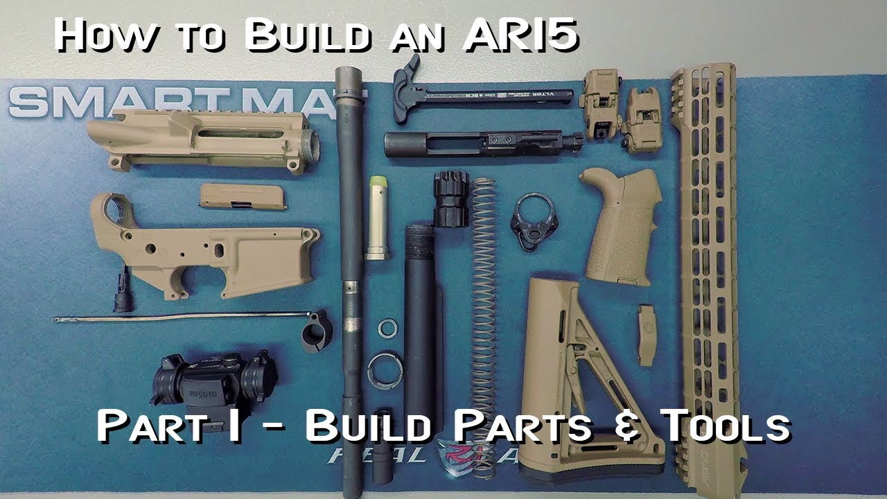 How to Build an AR15 - Part 1 - Parts & Tools