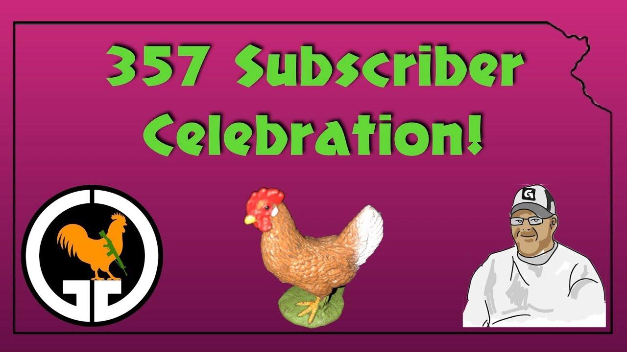 357 Subscriber Celebration