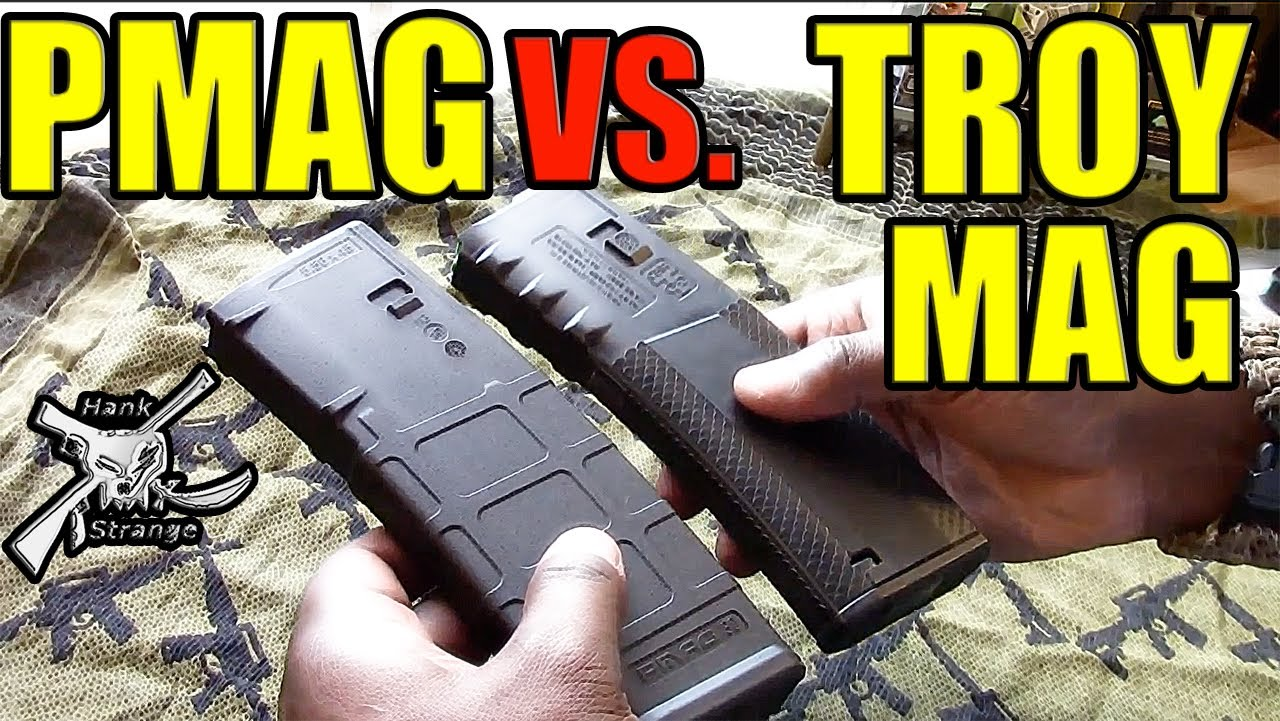 AR 15 Magpul PMAG Vs. Troy Ind. Battle Mag Disassembly & Reassembly for Cleaning