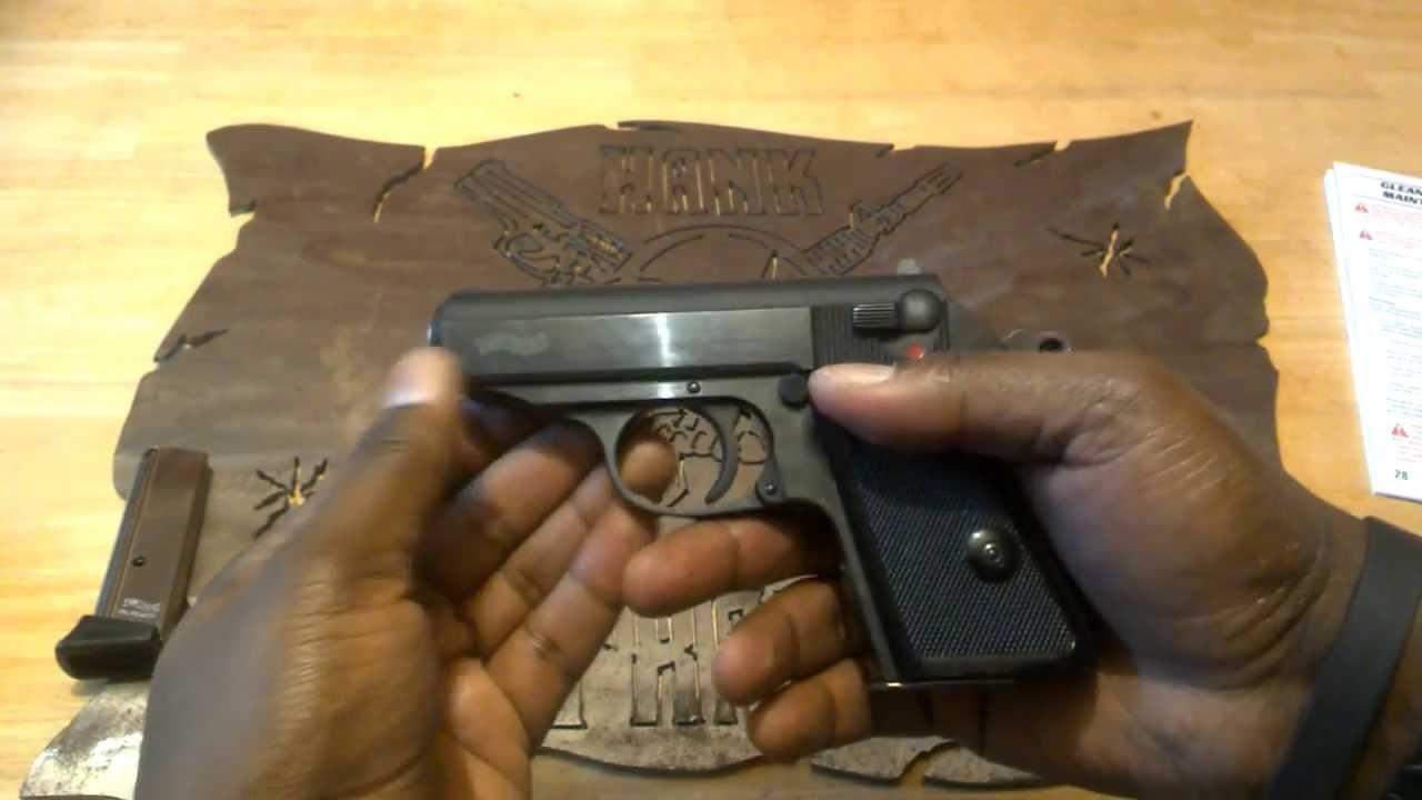 Kel Tec PF9 9mm Sub-Compact EDC Pistol Takedown and Reassembly
