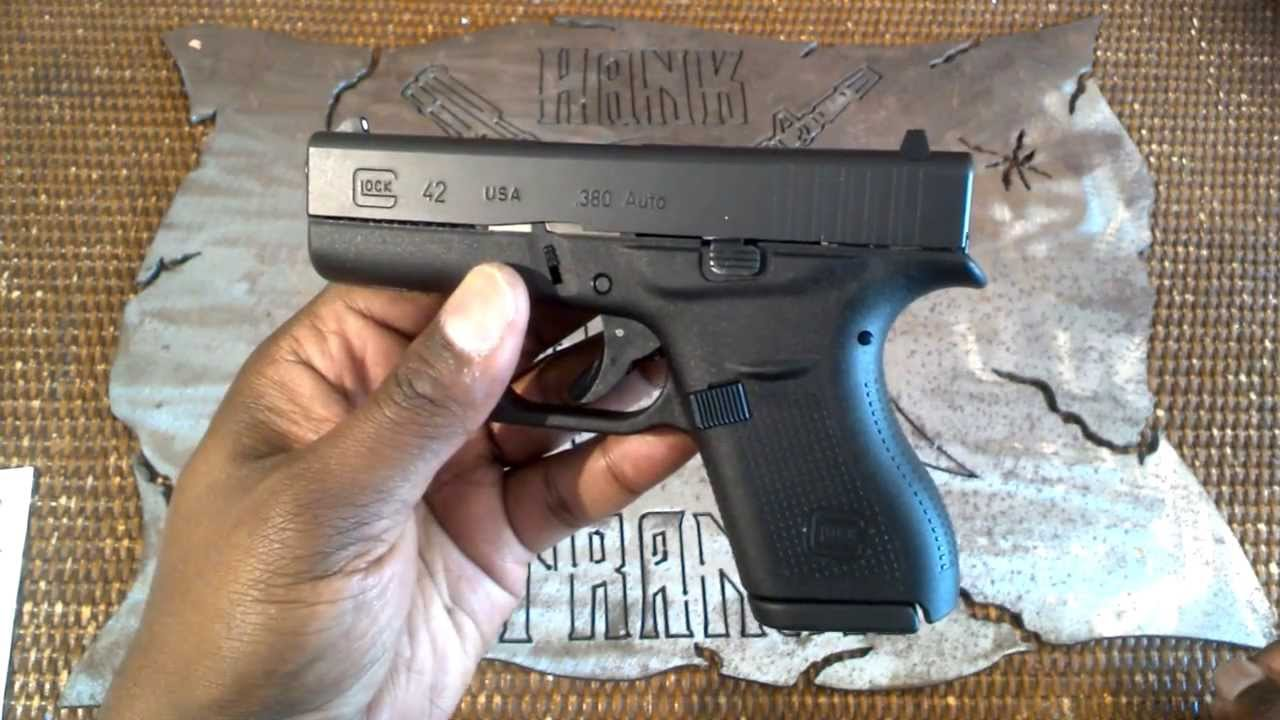 Glock G42  380 ACP Sub-Compact EDC PistolTakedown and Reassembly