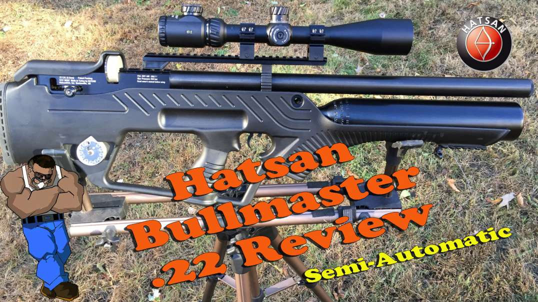 Hatsan Bullmaster .22 Caliber Full Review